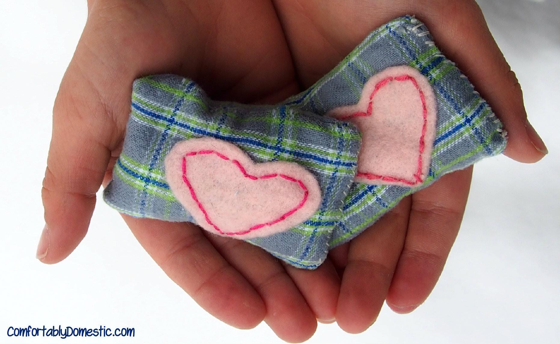 diy microwavable hand warmers reusable