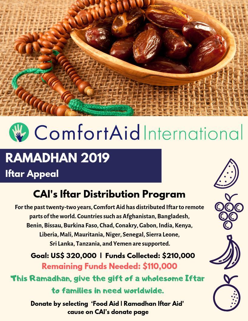 CAI Ramadhan 2019 Update
