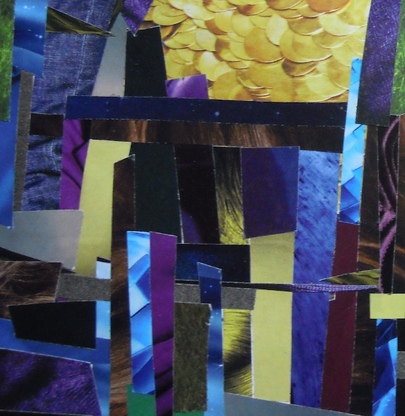 A sample of a color/mood board from one of my sketchbooks.
