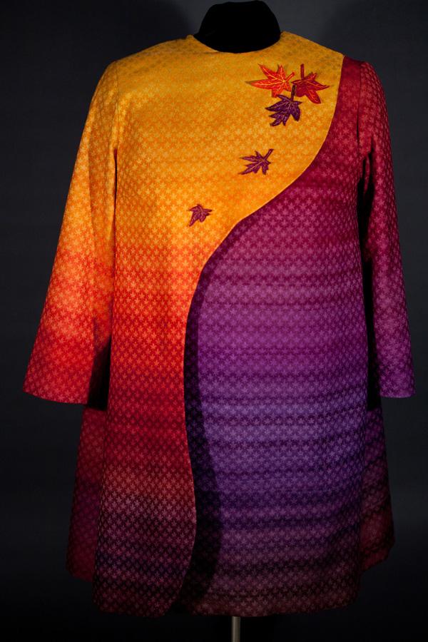 """""""Autumn Splendor"""", wool and silk, 2011."""