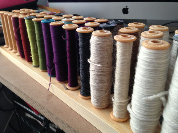 My army of bobbins at the ready.
