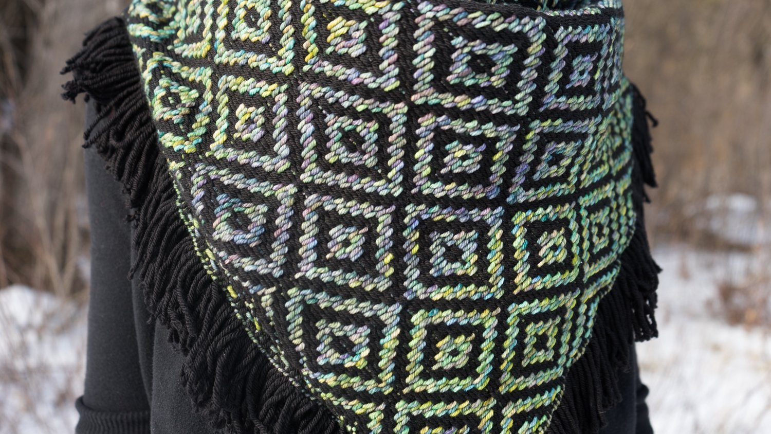Black/Indiecita Kerchief Detail