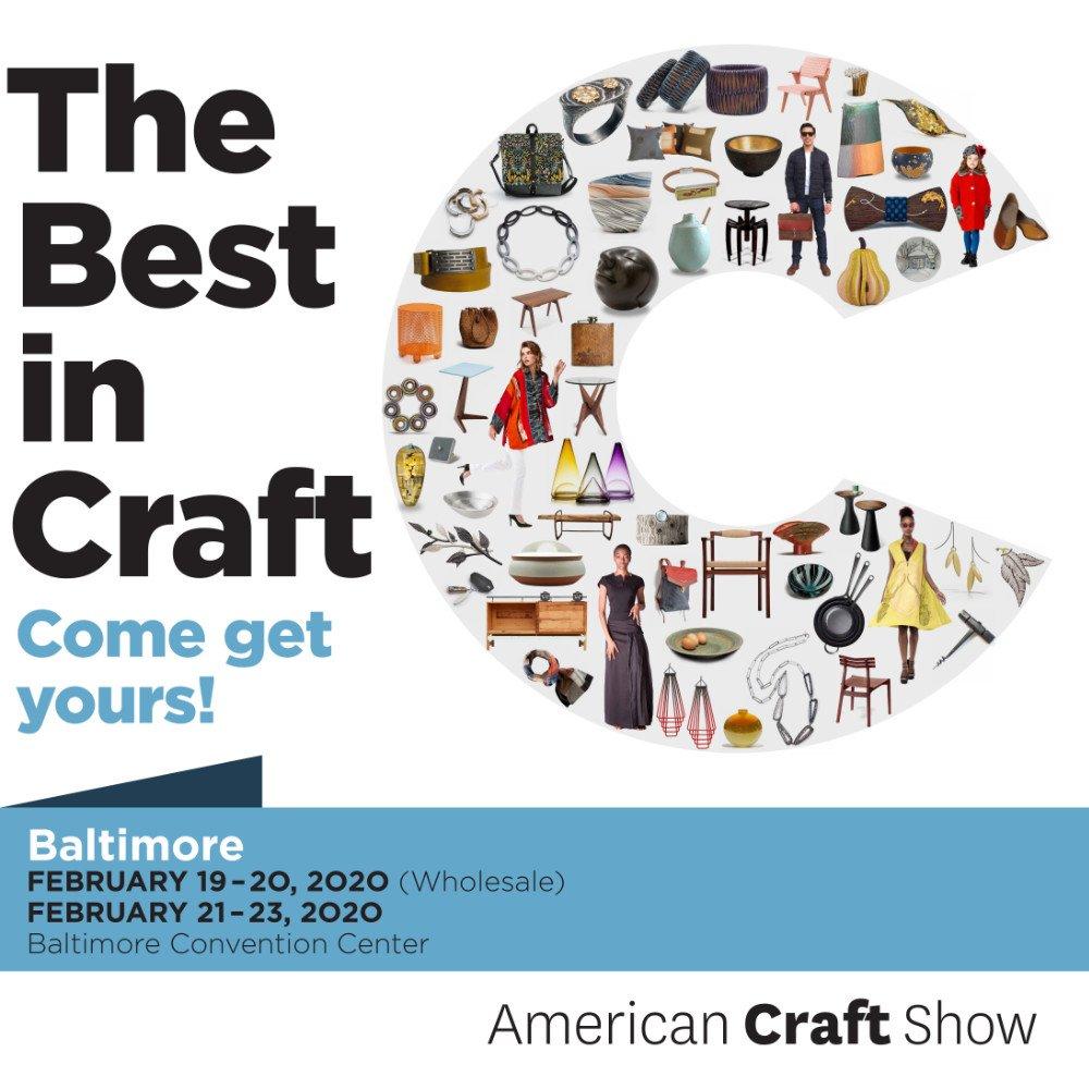American Craft Show Baltimore 2020