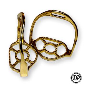 Baroque Stirrups, Brass Image
