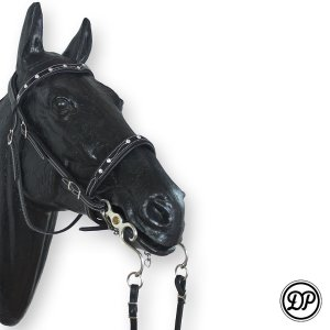 Soft Feel Baroque Headstall Brilliant Image