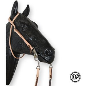 Soft Feel Western Headstall One Ear Image