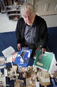 Voor NLXL.Kunstenaar Hans van der Horst.(Kampen 17-12-12)Foto:Frank Jansen Tel.06-51715753