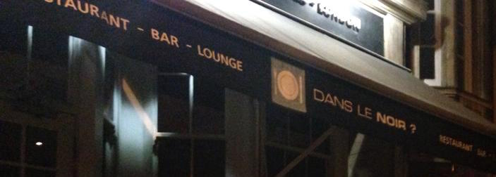 Dining In The Dark London >> Dans Le Noir Dining In The Dark Restaurant London Comfort Is For
