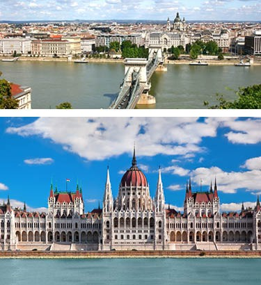 Prague-Vienna-Budapest Tours from Toronto