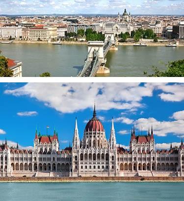 Prague-Vienna-Budapest Tours from Toronto