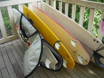 サーフィンには水分摂取が大事!