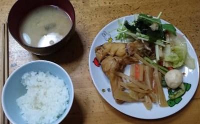 食トレモニターT様の夕食
