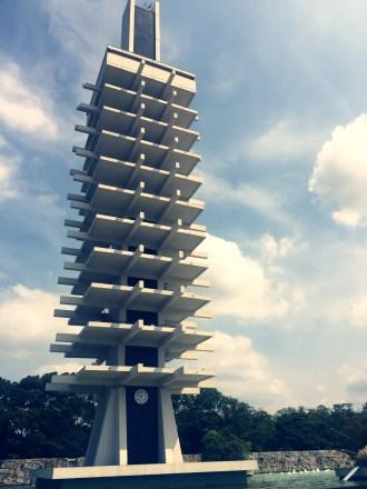 駒澤オリンピック公園総合運動場にある塔
