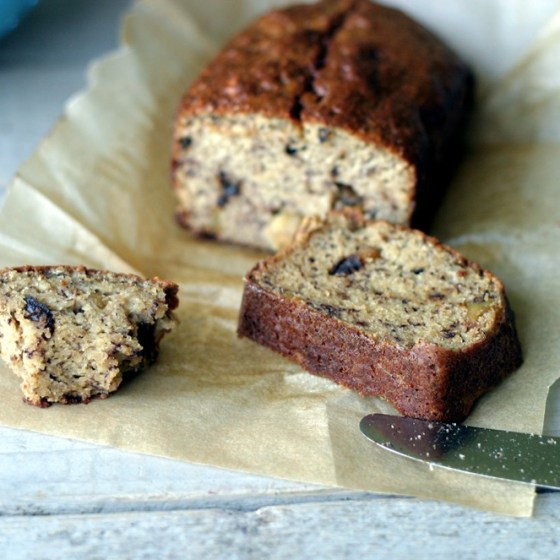 Banana Bread {almond & coconut flour}