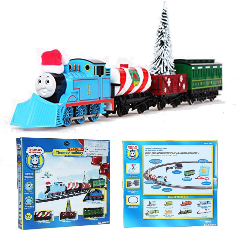 Thomas Holiday Special Ready To Run Ho Train Set