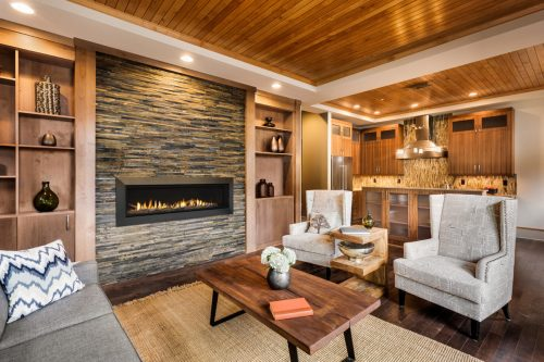 Linear Gas Fireplaces