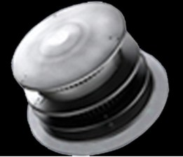 Majestic DVP-HRC-SS Horizontal high rise termination cap