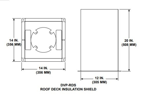 Majestic DVP-RDS Roof Deck Underside Insulation Shield