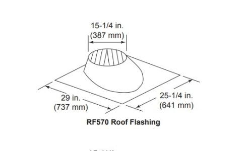 Majestic RF570 Roof Flashing