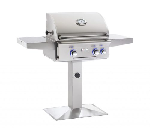 AOG 24NPL 24 L-Series Patio Base Post Mount Grill