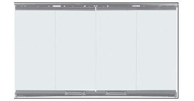 Majestic 36 Bi-fold glass doors