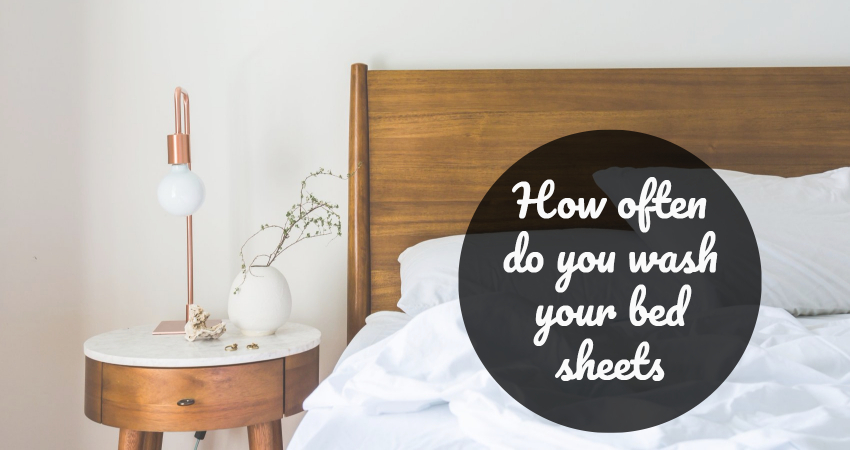 clean your bedsheets