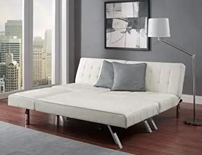 Modern Sofa Bed Sleeper Faux Leather Convertible Sofa Set