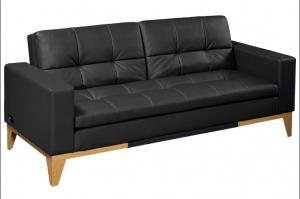 Westridge Convertible Bonded Leather Sofa Bed