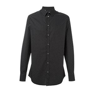 7-Polka Dot Print Shirt by Dolce & Gabbana