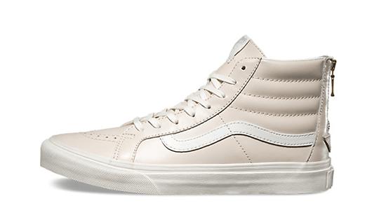 7-Vans Leather SK8-Hi Slim Zip