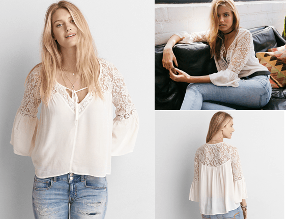 Apparel-American Eagle-AEO Lace Bell Sleeve Shirt.png