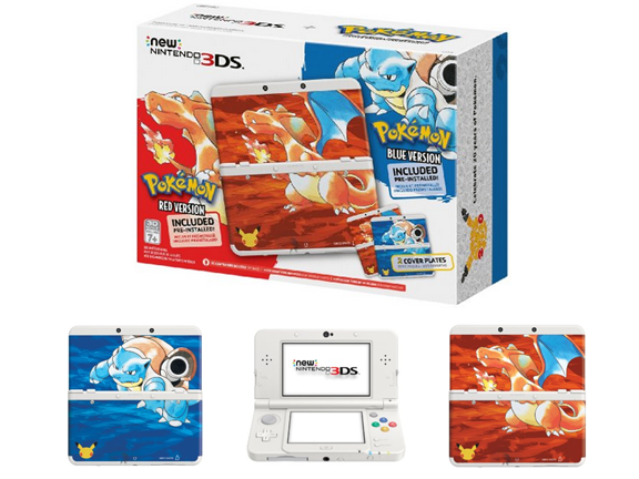 Toy-Nintendo 3DS-Nintendo Pokemon 20th Anniversary Edition New Nintendo 3DS