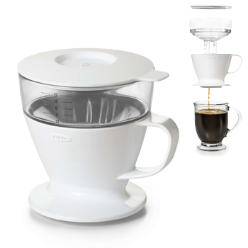 OXO Good Grips | Pour-Over Coffee Maker with Water Tank