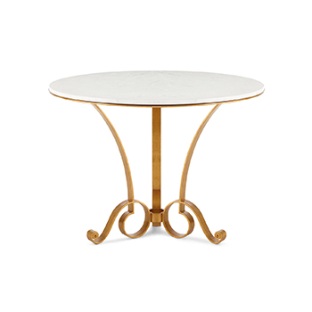 Horchow Bassani Marble-Top Entry Table