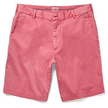 Men's Summer Clothes : Faherty Slim-Fit Stretch-Cotton Chino Shorts