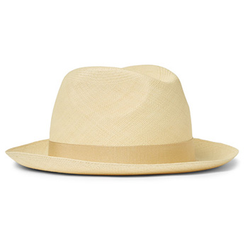 Men's Summer Clothes : Loro Piana Laurence Straw Panama Hat