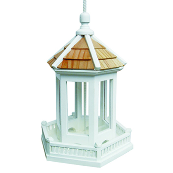 Gazebo Feeder by Home Bazaar with white background