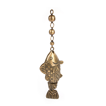 Freckle Fish Bell by Mackenzie Childs with white background