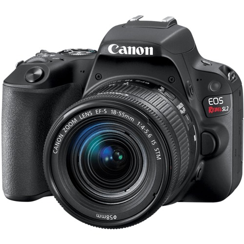 Canon-EOS Rebel SL2 DSLR Camera