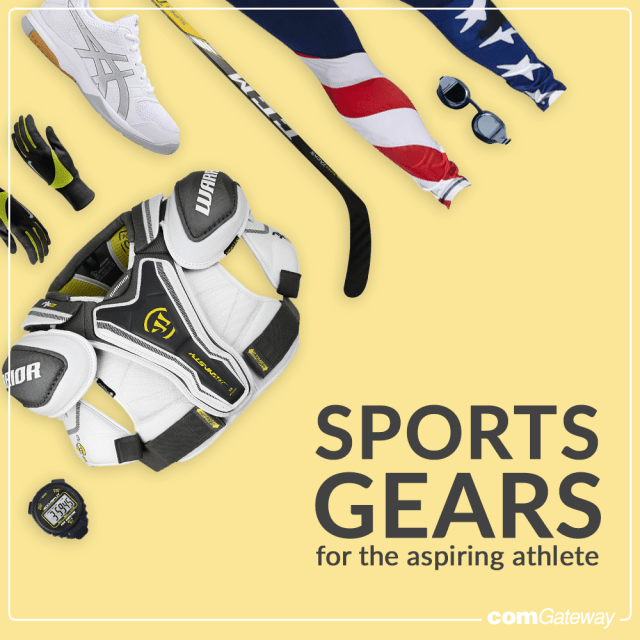 sports gears, athletic gears, athlete, aspiring athlete