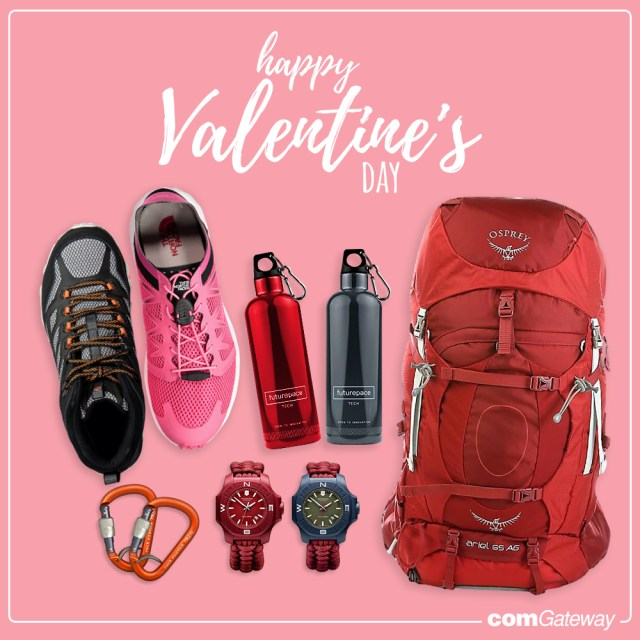Valentine's Day, hiking, shopping together