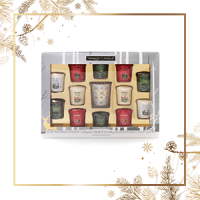 Yankee Candle 12 Samplers Happy Holiday Set