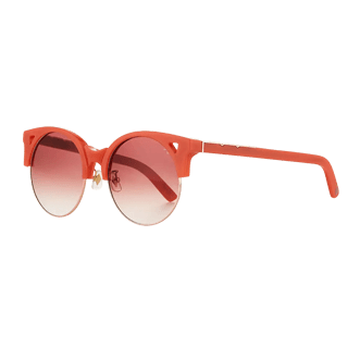 Pared Eyewear Semi-Rimless Round Sunglasses
