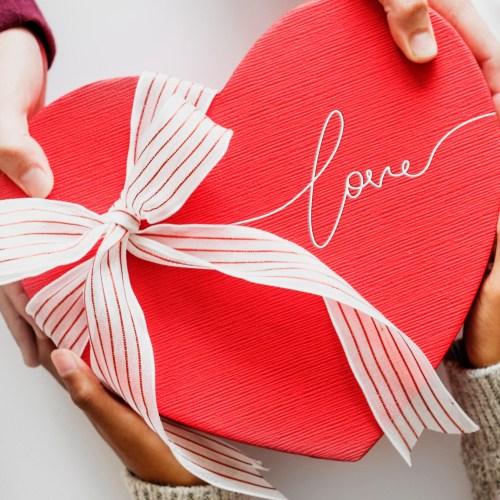 Valentine's Heart Gift Box