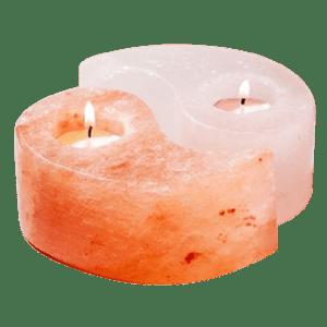 Oriental Furniture Yin Yang Candle Holder Set