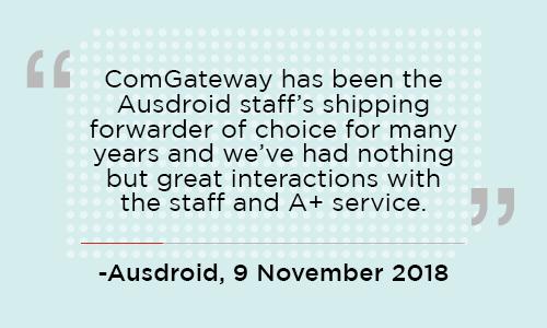 comGateway Ausdroid Review