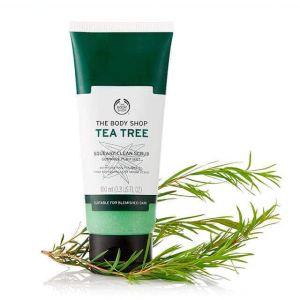 The Body Shop Tea Tree Squeaky Clean Exfoliating Face Scrub