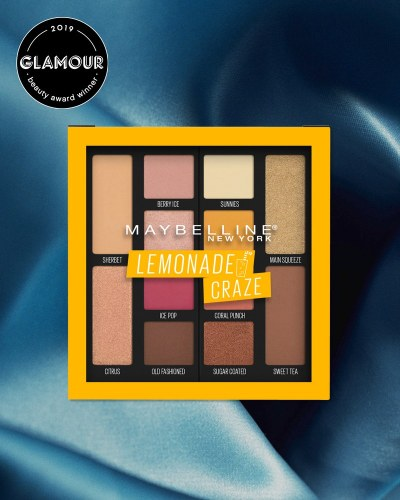 Best Eyeshadow Palette- Maybelline Lemonade Craze Eyeshadow Palette
