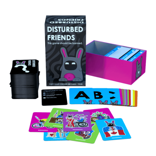 Fun Board Games for Adults- Disturbed Friends