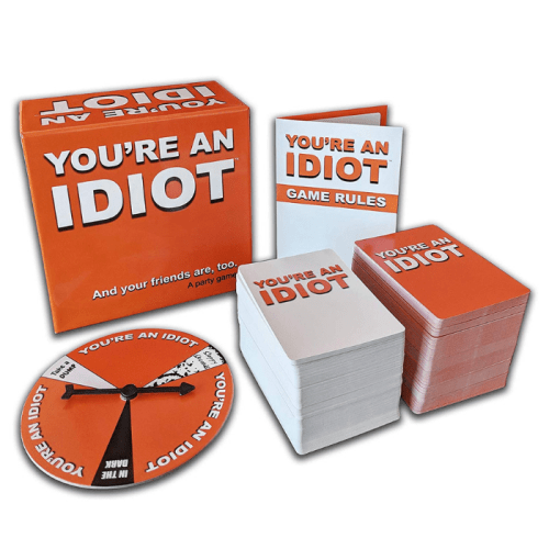 Fun Board Games for Adults- You're An Idiot